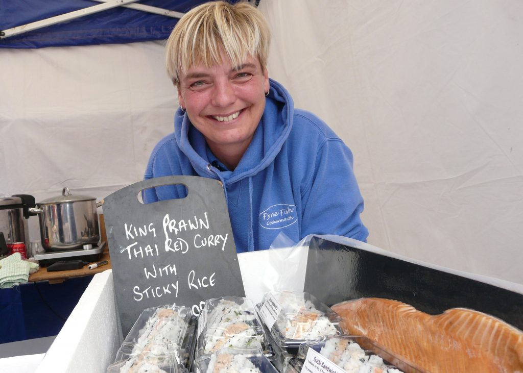 Fyne Fish at Taste Cumbria